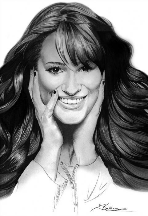 Lea Michele por Sabina